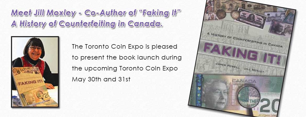 Toronto Coin Expo Book Launch