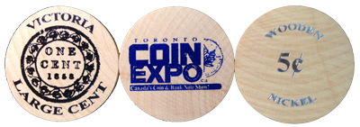 TCE Wooden Coin